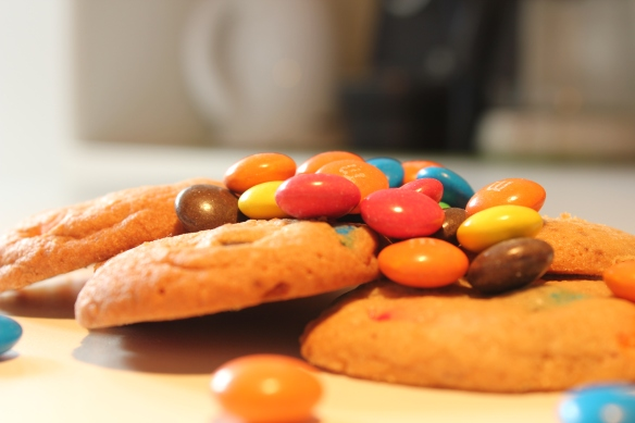 M and M cookie